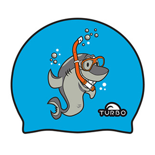 [터보] Swimming cap Shark - 9701836